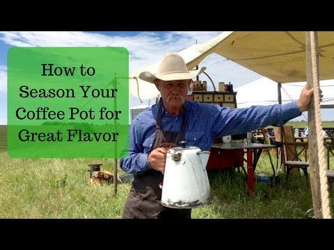 How to Season Your Coffee Pot for Great Flavor