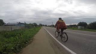 Велосипедим с братом по Петергофу