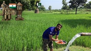 Cooking At Zero Line Pak Indian Border!