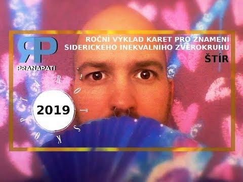 Siderický tarotskop na rok 2019 - Štír - výklad karet pro jednotlivá znamení