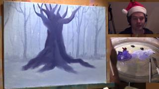 Central Tree   Painting Lesson