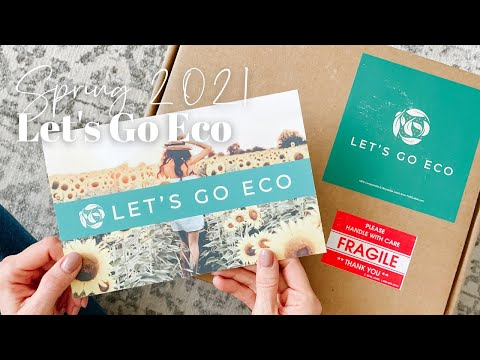Let's Go Eco Unboxing Spring 2021