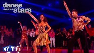 DALS S06 - Fabienne Carat et Julien dansent un disco sur ''You Should Be Dancing'' (Bee Gees)
