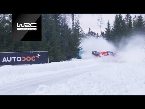 WRC - Rally Sweden 2019: Highlights Stages 1-4
