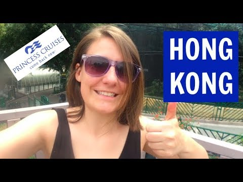 Hong Kong: Golden Princess, Asia Cruise VLOG7 (2018)