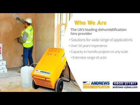 About Andrews Dehumidifier Hire
