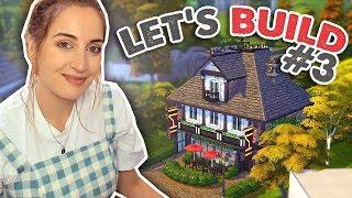 The Pub: Building An English Village (Sims 4)