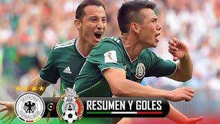 ALEMANIA VS MEXICO 0-1 / TV AZTECA / MUNDIAL RUSIA 2018 / RESUMEN / HIGHLIGHTS