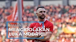 Alasan Marko Simic Mengidolakan Luka Modric, Ingin Tetap Ganas di Usia Tua