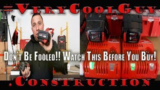 Milwaukee M18 Batteries - Watch Before You Buy!