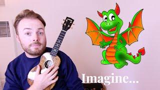 Gambar cover Demons - Imagine Dragons (Easy Ukulele Tutorial!)