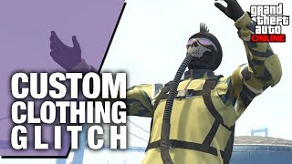 How to Put the Flight Suit Air Hose On Any Outfit! GTA Online Custom Clothing Glitch