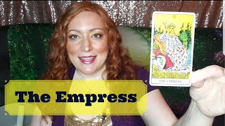JOURNEY THROUGH THE TAROT: A Week with the EMPRESS | Introduction to the EMPEROR
