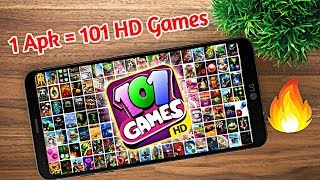 1 Apk 101 Games 🔥 | Android✔️ | HD Games🔥 | 101 Gamesin One Apk