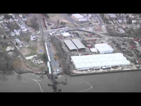 Raw Video of Paulsboro Train Derailment Carrying Vinyl Chloride