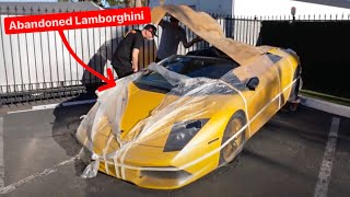 BUYING THE CHEAPEST ABANDONED LAMBORGHINI MURCIELAGO IN THE COUNTRY...