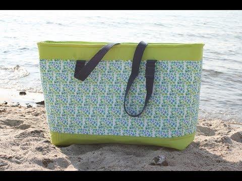 Strandtasche Eurybia von Tina Blogsberg nähen