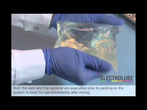 Video Electrolube: Electrolube Polyurethane Resin Mixing Instructions