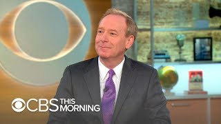 Microsoft president Brad Smith on AI for humanitarian concerns, cybersecurity - Video Youtube