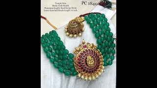 South Indian Bridal Jewellery Traditional  Gold Jewellery Designs 2018 And 2019 @Jewelry Palace