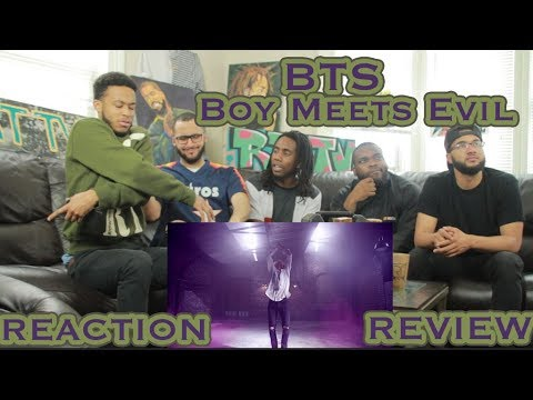BTS (방탄소년단) WINGS 'Boy Meets Evil' Comeback Trailer REACTION/REVIEW (видео)