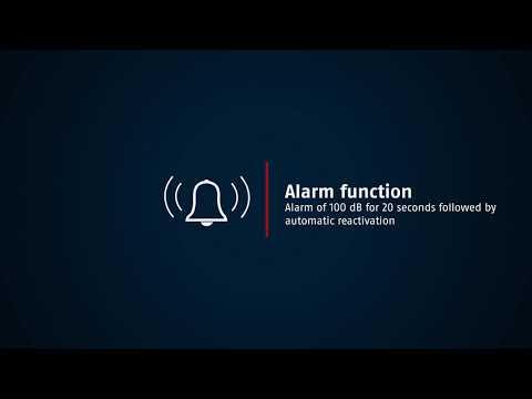 Abus Bordo BIG alarm 6000A/90 SH vouwslot met alarm
