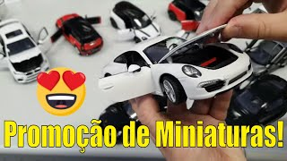 Miniaturas de Carros, Motos e Caminhões!