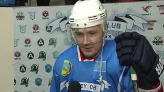 ОЧРК 2019/2020 Послематчевые интервью игроков ХК «Ertis» и ХК «Humo», игра №233