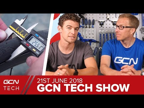 Tyres - Are We All Doing It Wrong? | GCN Tech Show Ep. 25
