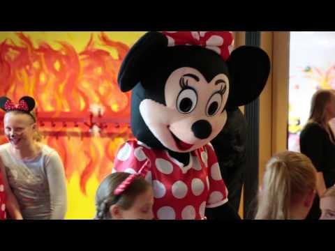 Dekoluft.de - Maskottchen Mickey Maus & Minnie Maus