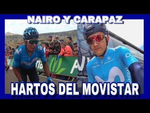 Nairo Quintana y Richard Carapaz Se Cansan Del Movistar