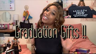 Opening My Graduation Gifts!!