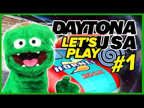 Let's Play Daytona USA 2001 on Dreamcast - Rolling Start! Part 1!