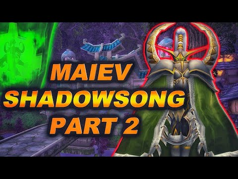 The Story of Maiev Shadowsong - Part 2