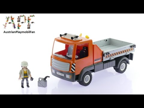 Vidéo PLAYMOBIL City Action 6861 : Camion de chantier