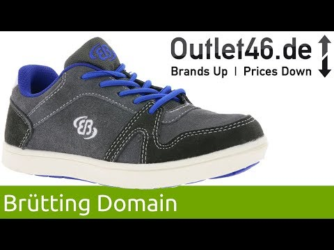 Brütting Domain Sneaker l Der perfekte Begleiter für Kinderfüße l 360° Video l Outlet46.de