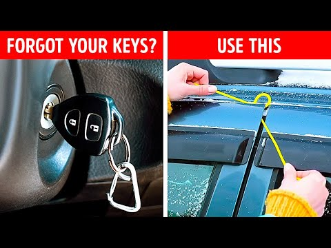 35 GENIUS CAR HACKS to save you and your transport everywhere