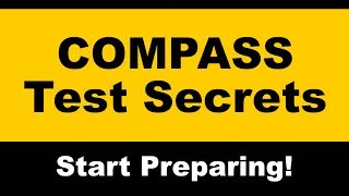 COMPASS Test Secrets -  Free COMPASS Math Practice