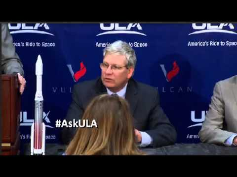United Launch Alliance Unveils Vulcan Rocket To The World