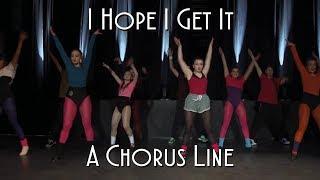 I Hope I Get It - Dance Ensemble