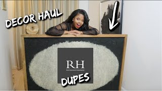 Restoration Hardware Decor Dupes| Home Goods Haul, Pottery Barn,Crate And Barrel, Ikea
