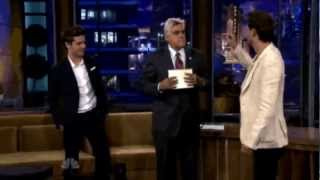 Lior Suchard on The Tonight show with Jay Leno and Zac Efron