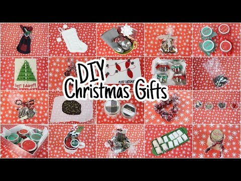 15 DIY Christmas Gifts People Will LOVE!