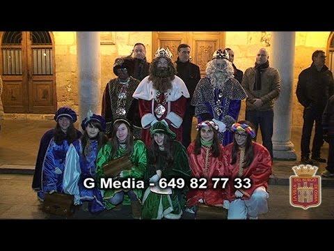 Vídeo de la visita de los Reyes Magos al Burgo.