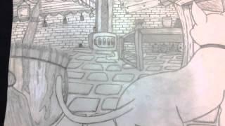 Fandom Drawing (landscape)