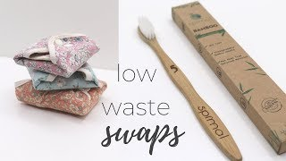 25 Low Waste Swaps ♻️