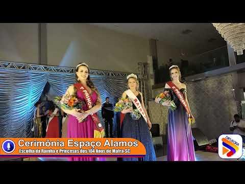 Concurso da rainha e princesas dos 104 anos.