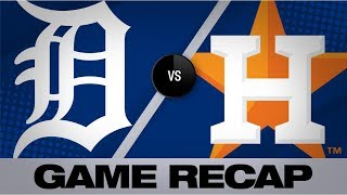4-run 1st inning leads Astros to 5-4 win | Tigers-Astros Game Highlights 8/19/19