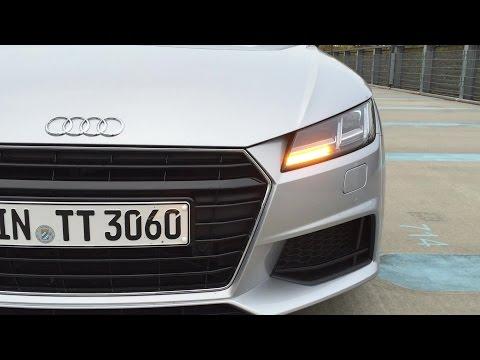 Die dynamischen Blinker am neuen Audi TT