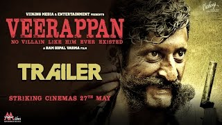 Veerappan Trailer 2 - The Hunt | Hindi Movie 2016 | A Ram Gopal Varma Film | Sachiin J Joshi